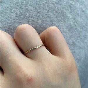 Mejuri Simple Stacker Ring